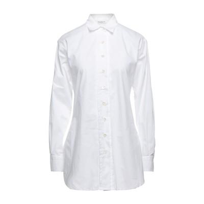 GUGLIELMINOTTI シャツ ホワイト 42 コットン 100% シャツ