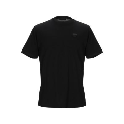 プラダ PRADA T シャツ ブラック XXL コットン 100% T シャツ