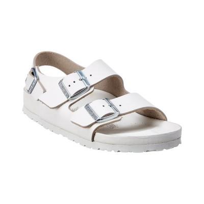 ビルケンシュトック サンダル シューズ レディース Birkenstock Women's Milano Leather Sandal white leather