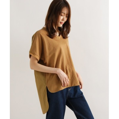 grove / VネックロングバックTシャツ WOMEN トップス > Tシャツ/カットソー