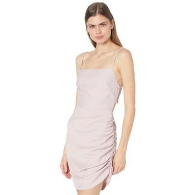 ワイフ ワンピース トップス レディース Bardot Smocked Back Side Drape Mini Dress Lavender