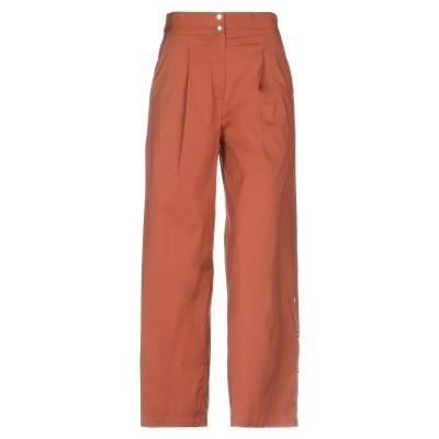 SMARTEEZ パンツ ブラウン 38 コットン 70% / ナイロン 27% / ポリウレタン 3% パンツ
