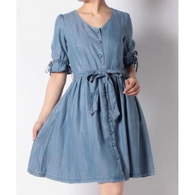 【リーバイス アウトレット】 BOW DRESS BLUE CHAMBRAY 3.7 レディース インディゴブルー XS LEVI'S OUTLET