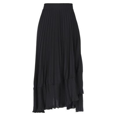 CARE OF YOU 7分丈スカート ブラック S/M ポリエステル 100% 7分丈スカート
