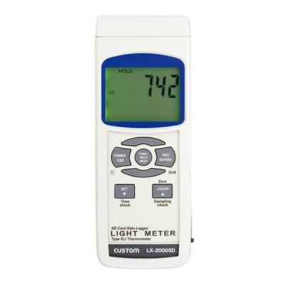 CUSTOM (カスタム) デジタル照度計 LX-2000SD