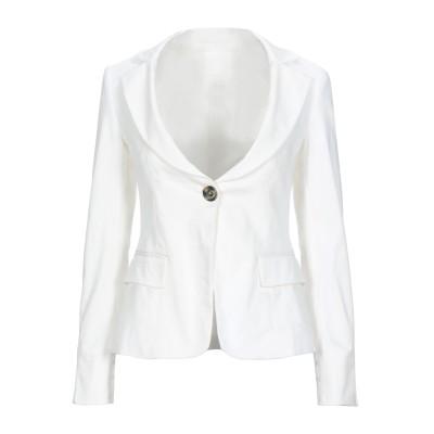 ピンコ PINKO テーラードジャケット ホワイト 46 コットン 98% / ポリウレタン 2% テーラードジャケット