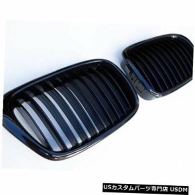 BMW 5シリーズE39シャイングロスブラック腎臓ユーロスポーツフロントフードグリルM M5 96-03