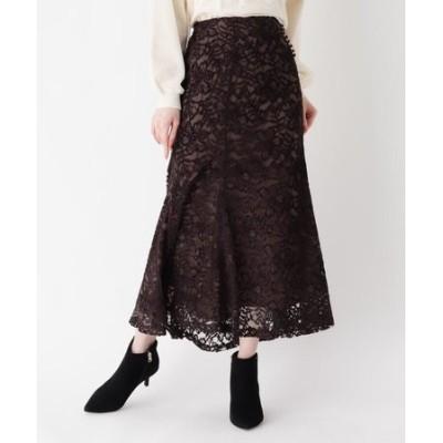 ◆ベロアレースマーメイドスカート