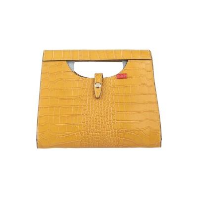 TSD12 ハンドバッグ オークル 革 ハンドバッグ