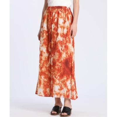 【スーペリアクローゼット/SUPERIOR CLOSET】 大理石プリントスカート