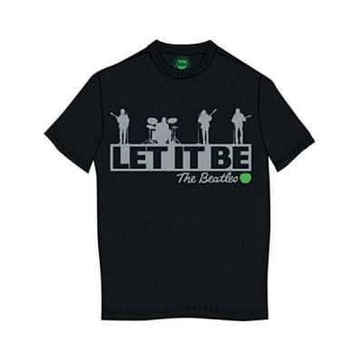 ビートルズ Tシャツ ロックTシャツ Rooftop (ルーフトップ) - ブラック/Sサイズ/メンズ  ロンドン 直輸入 (ブラック S)