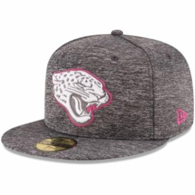 New Era ニュー エラ スポーツ用品  New Era Jacksonville Jaguars Heather Gray 2016 Breast Cancer Awareness Sideline 59F