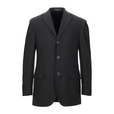 TREND CORNELIANI テーラードジャケット ブラック 48 バージンウール 100% テーラードジャケット