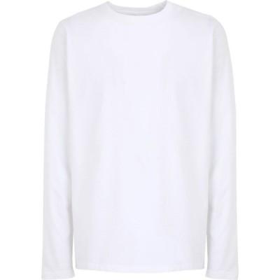カラフルスタンダード COLORFUL STANDARD メンズ Tシャツ トップス t-shirt White