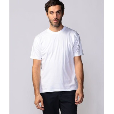 TOMORROWLAND/トゥモローランド コットン クルーネックTシャツ 11 ホワイト L