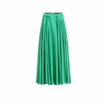 エムエスジーエム MSGM レディース ロング・マキシ丈スカート スカート Silk-blend satin maxi skirt