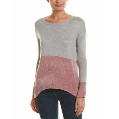 ROMEO & JULIET COUTURE ロミオ&ジュリエットクチュール ファッション トップス Romeo & Juliet Couture Colorblocked Sweater