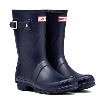 ハンター(HUNTER) レディース オリジナル ショート ネイビー WFS1000RMA NVY 長靴 ラバーブーツ 雨靴 レインシューズ レインブーツ