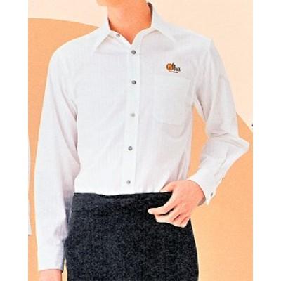 BL-423-A6 シャツ(長袖) 男女兼用 全1色 (厨房 調理 サービスユニフォーム IST イスト)