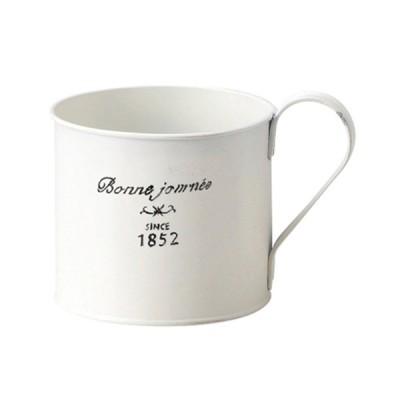 グリーンハウス ナチュラルブリキポット マグカップ L 3147-A