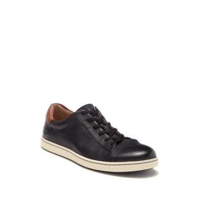 ボーン メンズ スニーカー シューズ Ashram Leather Sneaker BLACK