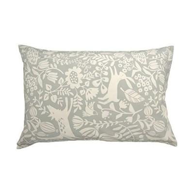 CAMEL PALMS 日本製 綿100% 枕カバー 43×63cm ファスナー式 ピローケース 森の動物たちB
