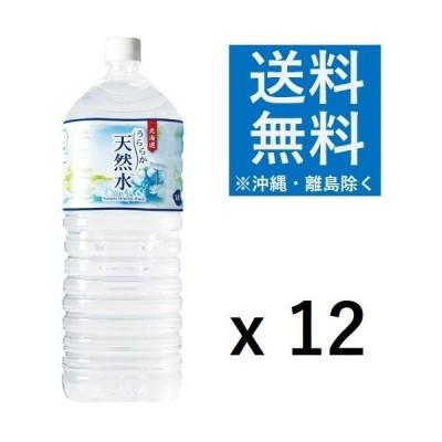 神戸居留地 北海道 うららか天然水 2L x 24本 ペットボトル ミネラル ウォーター