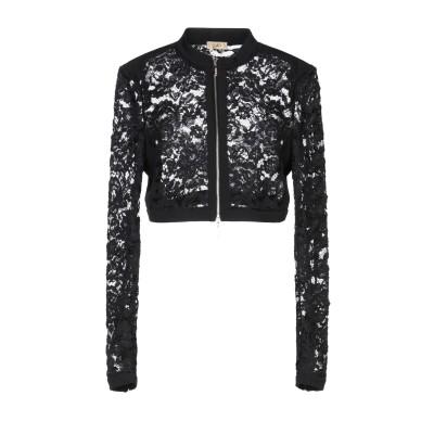 リュー ジョー LIU •JO テーラードジャケット ブラック 40 100% ポリエステル テーラードジャケット
