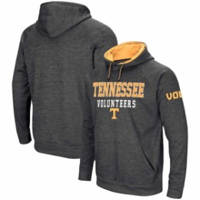 Colosseum コロセウム スポーツ用品  Colosseum Tennessee Volunteers Heathered Charcoal Performance Pullover Hoodie