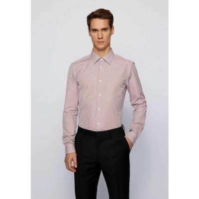 ボス メンズ ファッション T-CARL - Formal shirt - brown