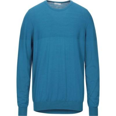 パオロ ペコラ PAOLO PECORA メンズ ニット・セーター トップス sweater Blue