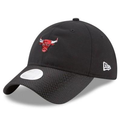 ニューエラ レディース 帽子 アクセサリー Chicago Bulls New Era Women's On-Court 9TWENTY Adjustable Hat