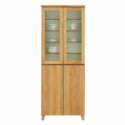 食器棚 ダイニングボード 幅70cm 完成品 おしゃれ モダン 木製 国産