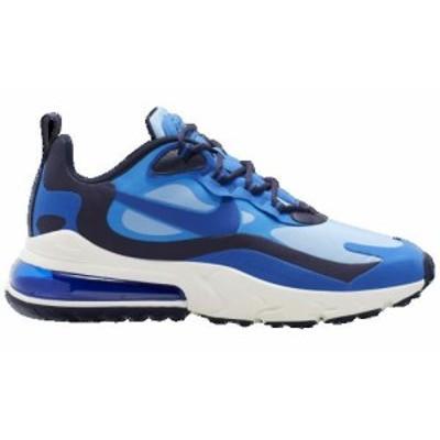 (取寄)ナイキ メンズ エア マックス 270 リアクト Nike Men's Air Max 270 React Pacific Blue Hyper Blue University Blue