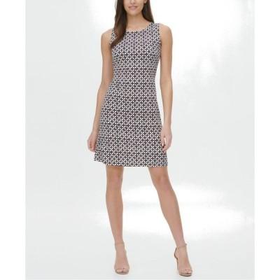 トミー ヒルフィガー レディース ワンピース トップス Printed A-Line Dress