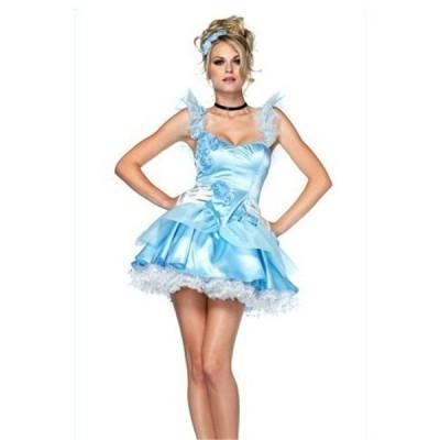 WL08 シンデレラワンピース舞踏会ドレス  女性用   コスプレ 衣装 仮装 ハロウィン コスチューム コス レディース ロング 女王 大人 大きいサイズ お姫様ドレス
