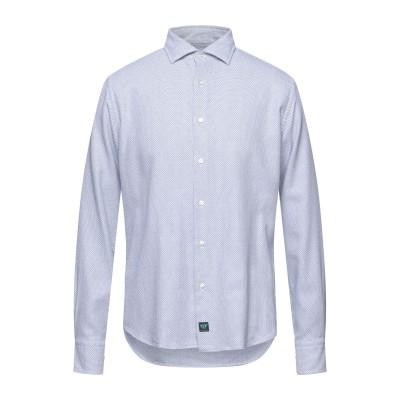 BROUBACK シャツ ダークブルー 41 コットン 100% シャツ