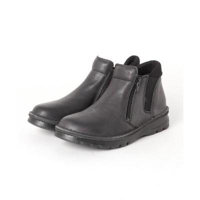 ブーツ 「YOSUKE/ヨースケ」日本製コンフォートレザーショートブーツ
