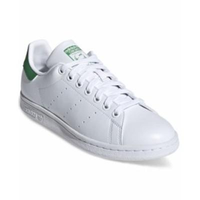 アディダス レディース スニーカー シューズ Women's Originals Stan Smith Primegreen Casual Sneakers from Finish Line Footwear Whit