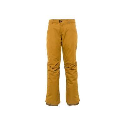 686(686) スノーボード ウェア 20-21 MID-RISE パンツ M0W408 GOLDEN BROWN (レディース)