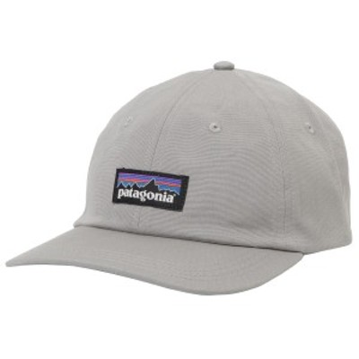 [即日発送]パタゴニア メンズ ベースボールキャップ 野球帽子/patagonia ロゴ ワッペン シンプル ベースボールキャップ 野球帽子 グレー