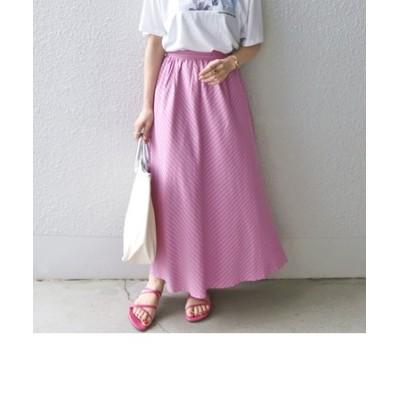 SHIPS any:ジャカードAラインスカート