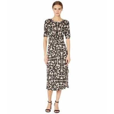 レベッカテイラー レディース ワンピース トップス Short Sleeve Kaleidoscope Jersey Dress Camel Combo
