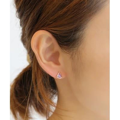 L&Co. / K10 カラーストーン ピアス WOMEN アクセサリー > ピアス(両耳用)
