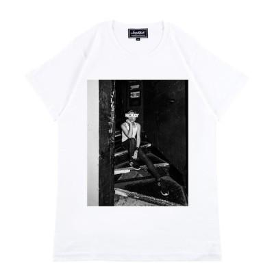 "tシャツ Tシャツ Amplifier ""ROLLY"" TEE design A"