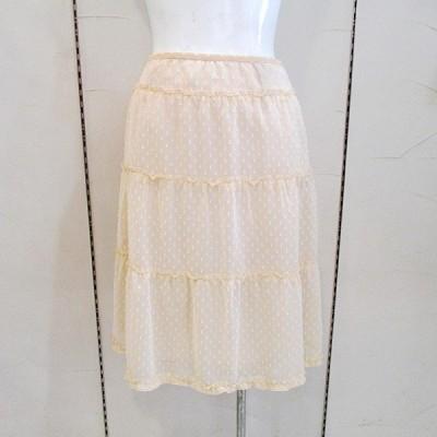 ルイシャンタン Lui Chantant レディース シフォンひらひらフレアスカート (アウトレット50%OFF) 半額 通常販売価格:20900円