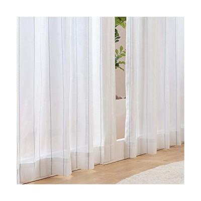【カーテンのEzee】7色X10サイズから選べる UVカット 遮熱 保温 省エネ (昼)室内が見えにくい ウォッシャブル ストライプデザイン
