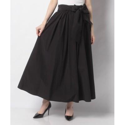 【バビロン】 ウエストリボンツキスカート レディース ブラック S BABYLONE