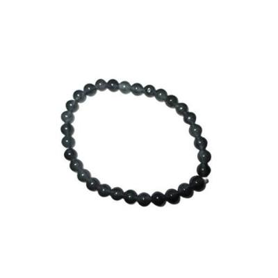 jet international Iolite Stretch Bracelet 6 mm A++ Gemstone Amulet Charms H