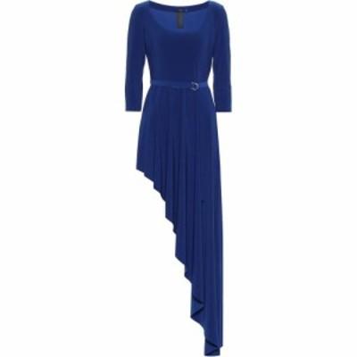ノーマ カマリ Norma Kamali レディース ワンピース ワンピース・ドレス Reversible stretch jersey dress Berry Blue